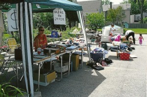 Yard Sale at the DeKalb Area Women's Center