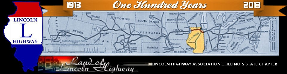 Road Maps Lincoln Highway Association Illinois Chapter
