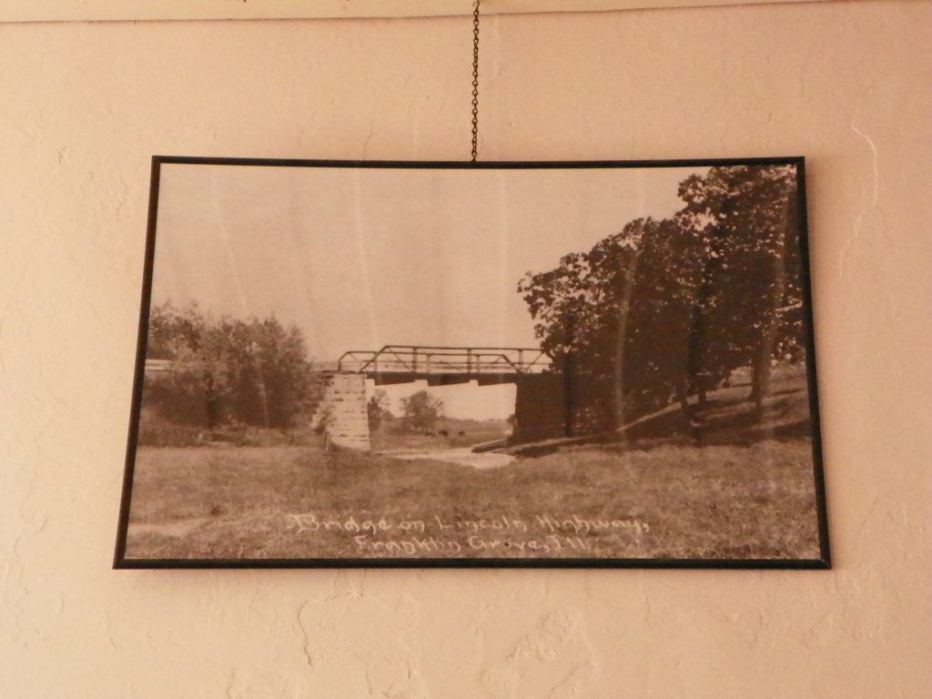 photograph of a Lincoln Highway bridge